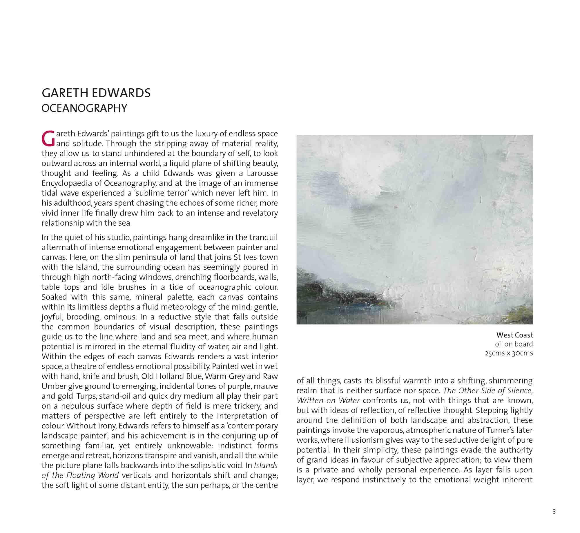 Gareth Edwards publication