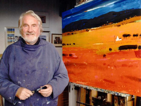 Hamish Macdonald in his studio