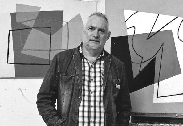 Jeremy Annear in his studio