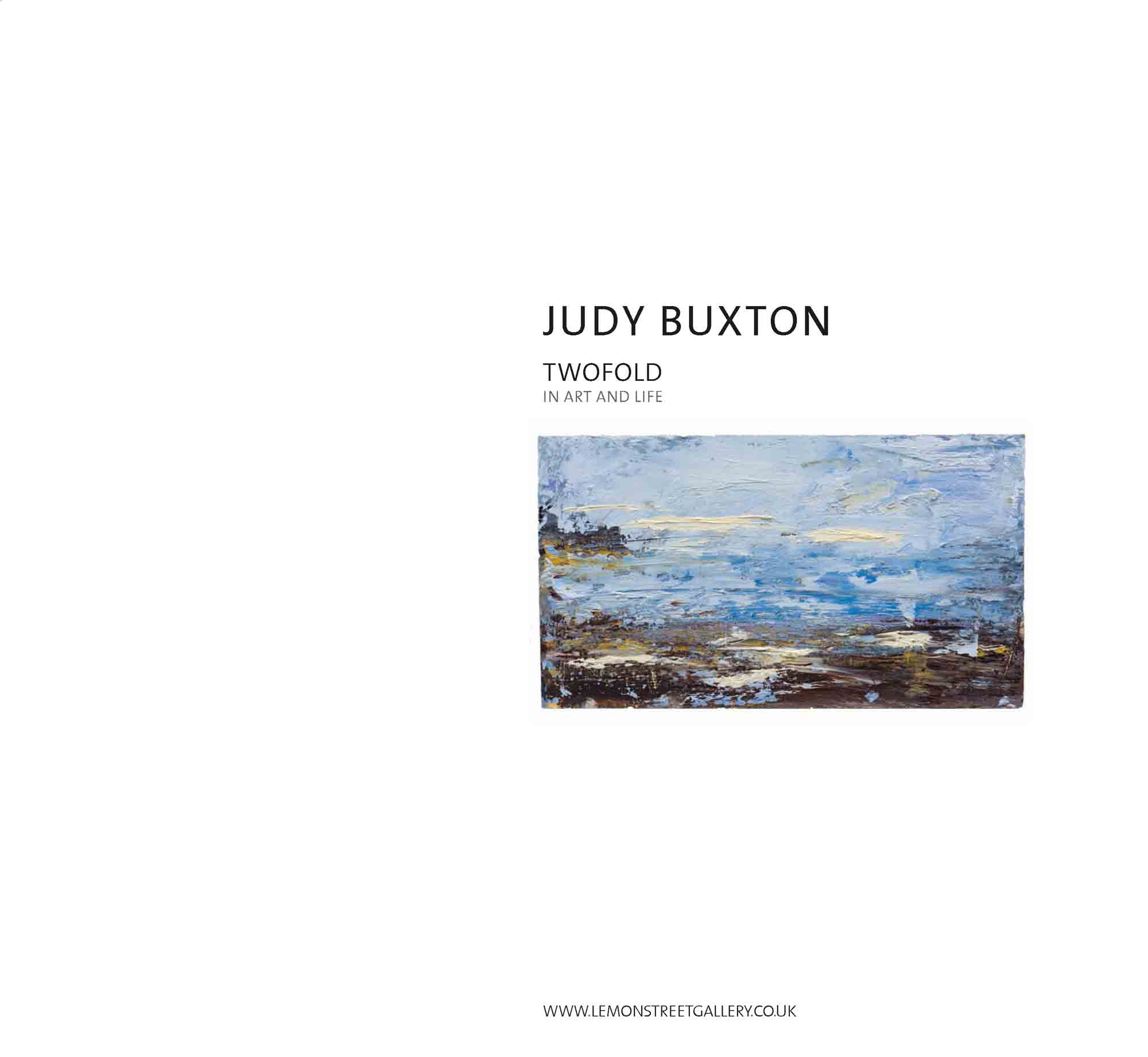 Judy Buxton publication front cover