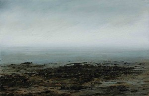 Pale Sea by Donald Provan exhibited at Lemon Street Gallery