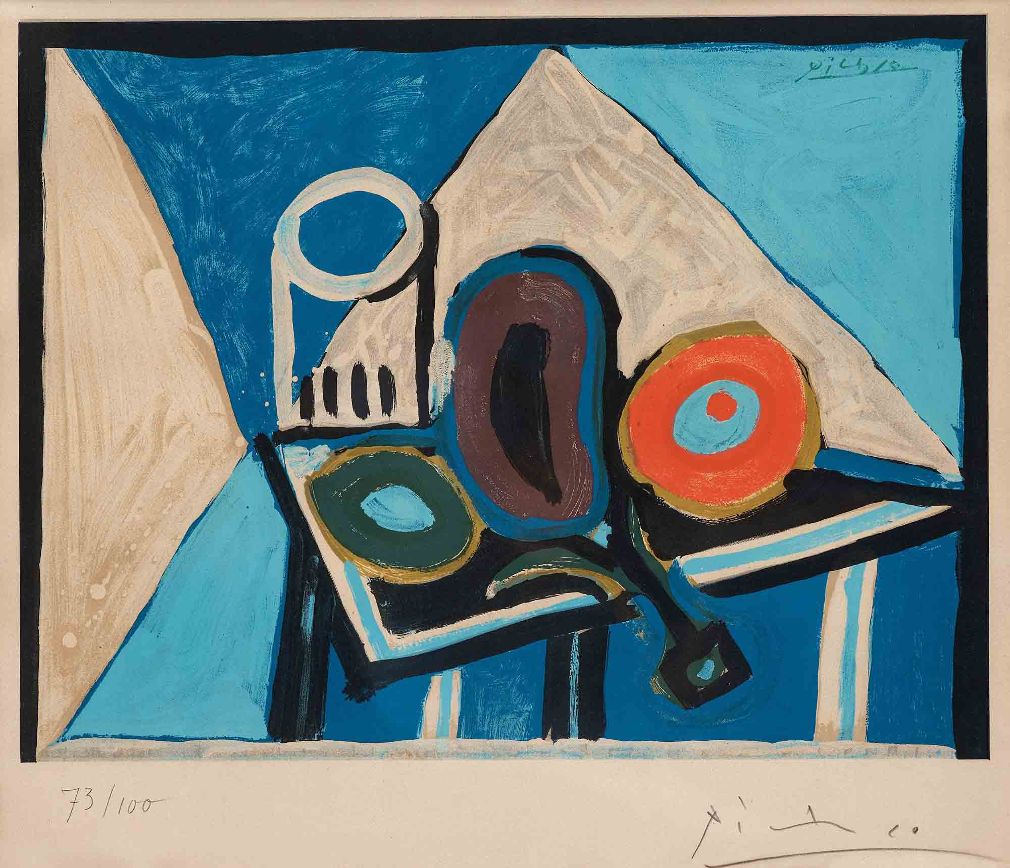 Winter exhibition 2015 truro cornwall - Picasso nature morte a la chaise cannee ...