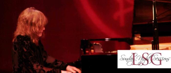 Marilyn Crispell playing piano