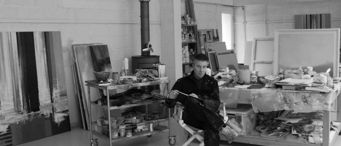 Portrait photograph of Neil Canning in his studio
