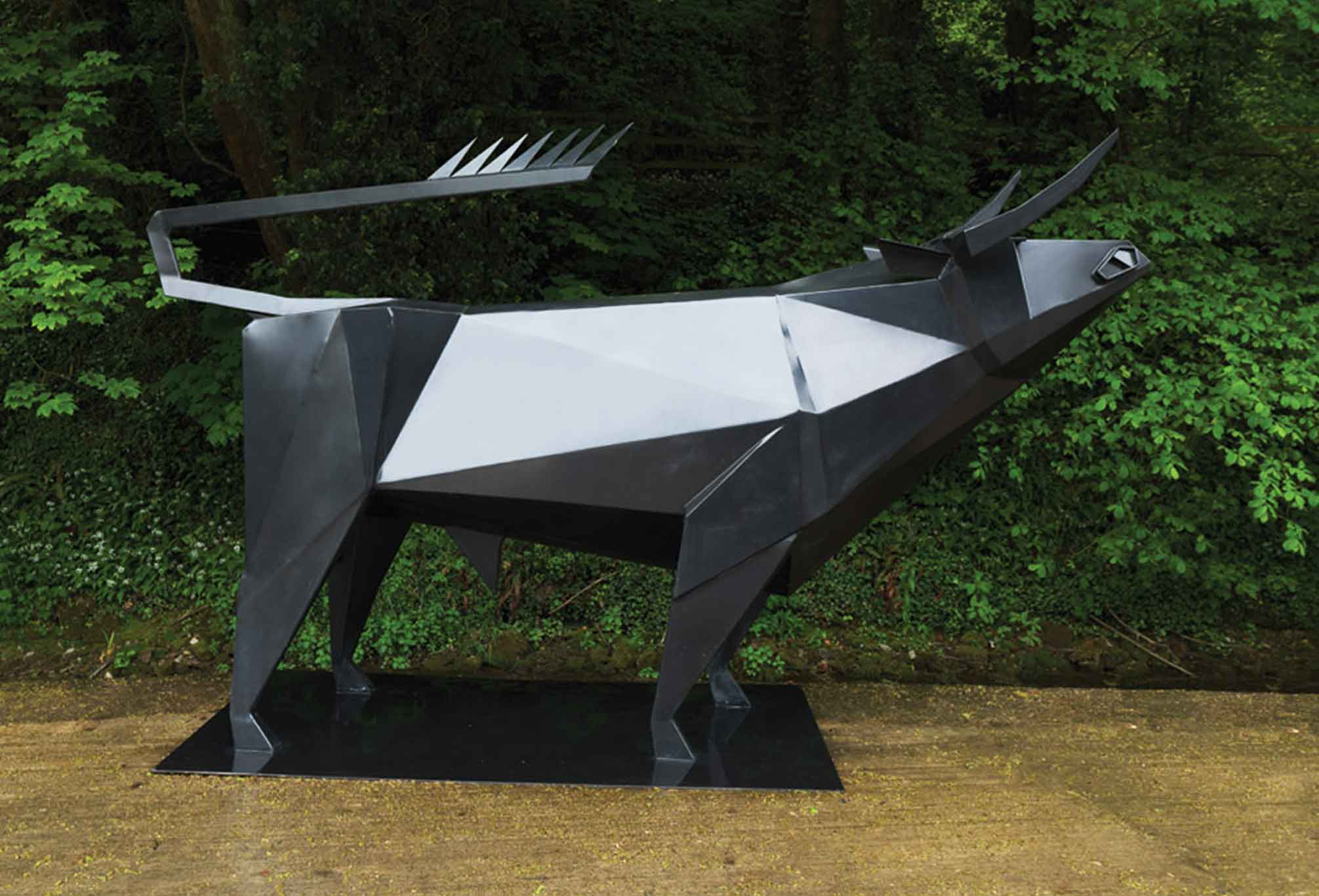 Terence Coventry piece for Withiel Sculpture Garden