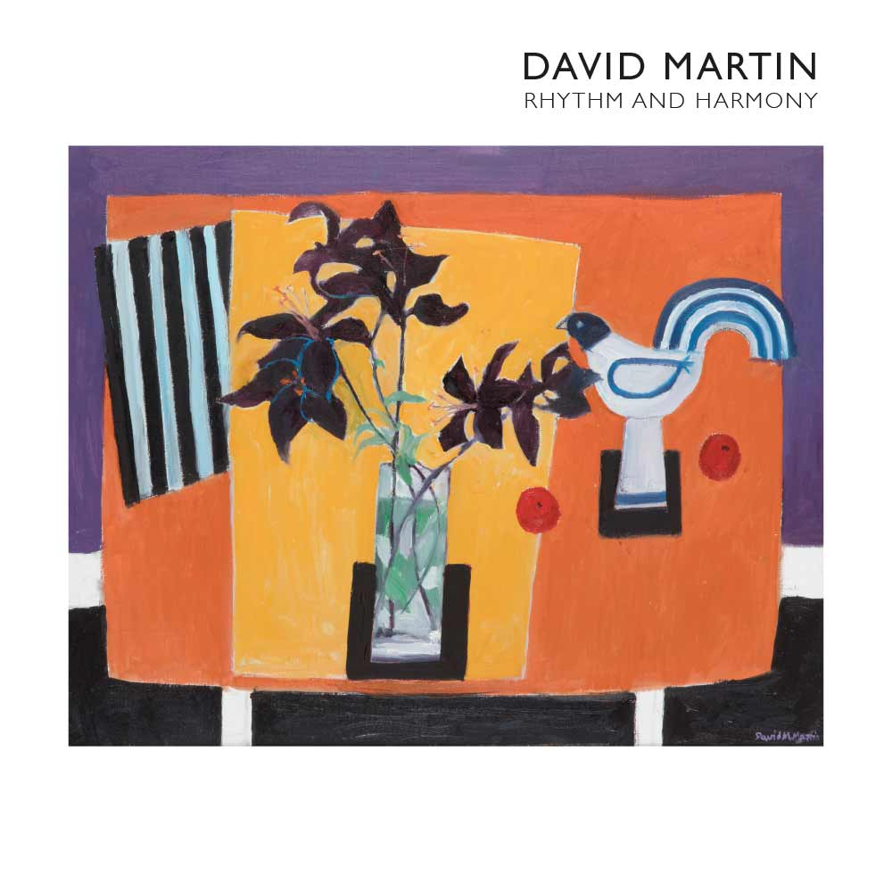 David Martin publication page for Lemon Street Gallery Cornwall