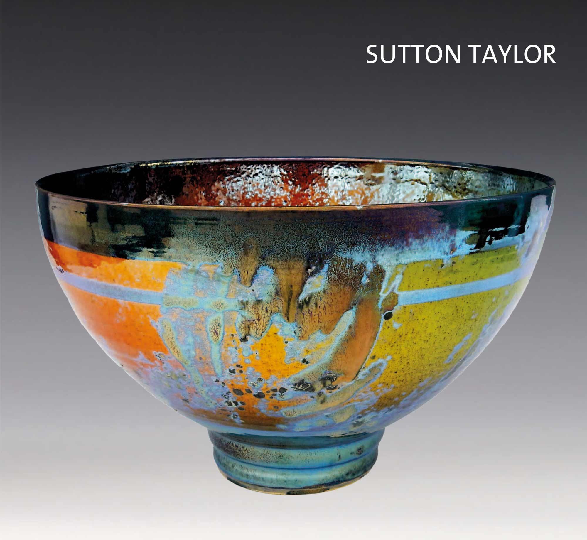 A page from Sutton Taylor Reflections of Summer exhibition publication from Lemon Street Gallery