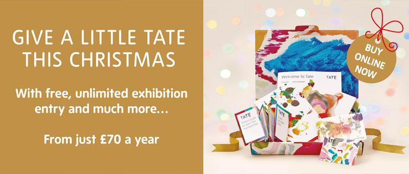 Tate Christmas banner