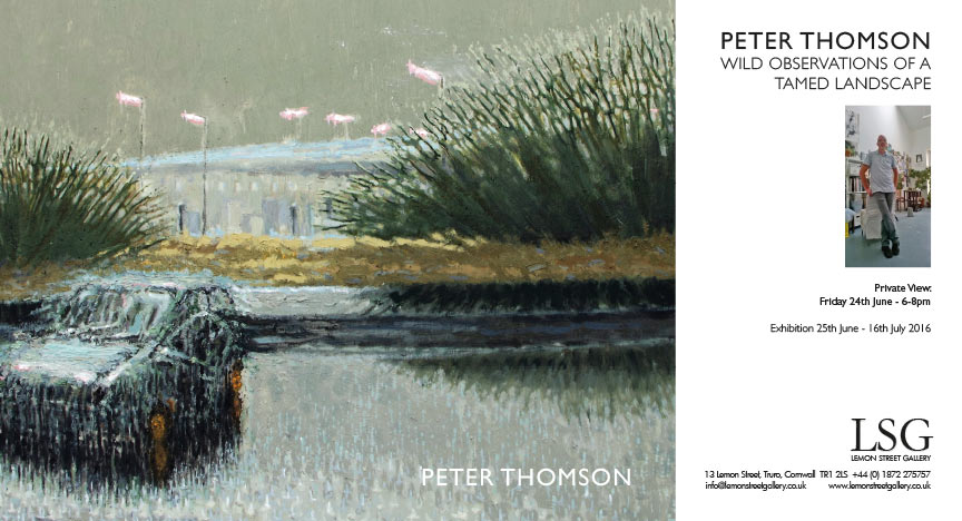 Peter Thomson Wild Observations of a Tamed Landscape front cover