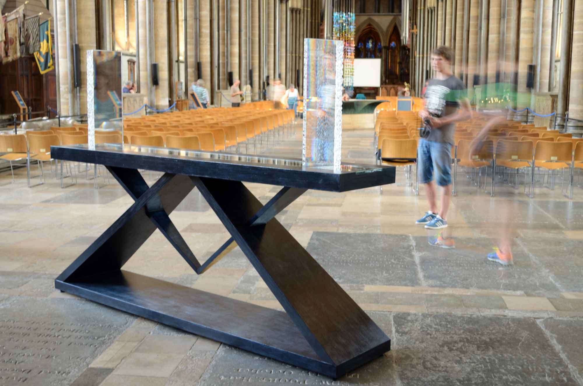 Reflections exhibition at Salisbury Cathedral